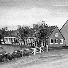 Klingegård i Østergade
