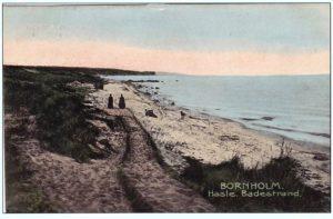 Hasle sydstrand 1907.
