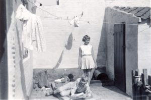 Nina og Henning i Vestergade i 1960